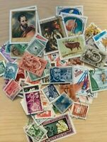 COLLECTION OF 100 HUNGARY STAMPS, ALL DIFFERENT, USED, OLD & NEW