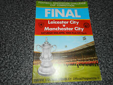 1969 F.A.CUP FINAL : LEICESTER CITY  v  MANCHESTER CITY @ WEMBLEY ~ APRIL 26th