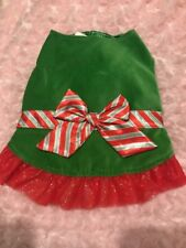 New listing Peppermint Dog Dress Small