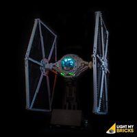 LIGHT MY BRICKS - LED Light Kit for LEGO Star Wars UCS Tie Fighter 75095