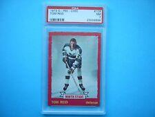 1973/74 O-PEE-CHEE NHL HOCKEY CARD #109 TOM REID PSA 7 NM SHARP!! 73/74 OPC