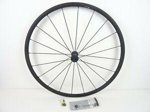 DT Swiss PR1400 Dicut Front Road Bike Wheel 700C 622x18C Black Rim Brake Soiled