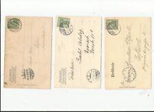 Dr/Salzungen A (2) + C, jamais Grille-STPL. A. 3 diff. équivaut à. AK 1903-08