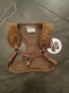 Official Star Wars Dog Harness chewbacca new