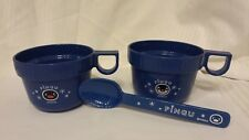 R@re & Collectible PINGU & PINGA Penguin Pair of Children's Cups & One Spoon