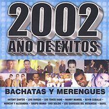 Various Artists : 2002 Ano De Exitos: Bachata Y Merengues CD