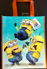 Set of 10 Despicable Me 2 Minions Reusable Tote Gift Bags Birthday Party Favors