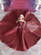 Barbie Red Long Dress , Outfit, doll not encluded