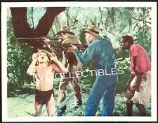 11x14 Lobby Card~ TARZAN'S NEW YORK ADVENTURE 1942 ~Johnny Sheffield ~Boy yells!