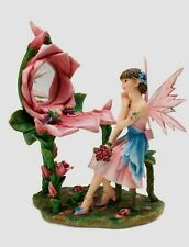 Faerie Glen Elfe Fairy *Just Keep Believing* m. Tischspiegel