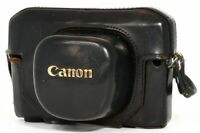 Canon 7 Rangefinder Camera Leather Case, Strap Genuine from JapanExc++ 3