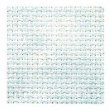 19½ x 21½in / 50 x 55cm 14 COUNT DMC BLUE MARBLE AIDA CROSS STITCH FABRIC