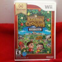 NEW Animal Crossing: City Folk [Nintendo Selects] still  in Shrink Wrap Wii b1