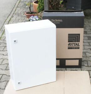 Rittal Schaltschrank AE1057.009 - 700 x 500 x 250 mm weiß o. Montageplatte
