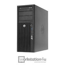 HP Z420 Workstation Intel Xeon e5-1620 12gb RAM NVIDIA Quadro K4000 128gb SSD W7