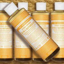 Dr. Bronner's Magic Soap Zitrus Orange 240ml Flüssigseife Naturkosmetik fair bio