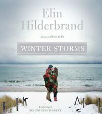 New Audio Book WINTER STORMS Elin Hilderbrand Unabridged 6 CDs Sealed Great