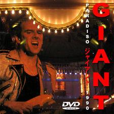 GIANT @LIVE 1990 DVD !!! (Dann Huff,Dan,Ronn,Jeff Beck,Mark Spiro) MEGA RARE AOR