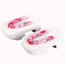 [PF] Light pink Wood Kimono geta Timber Shoes Sandals 1/4 MSD AOD BJD Doll