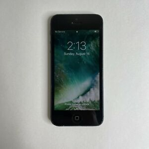 Apple iPhone 5 A1428 Black 16GB AT&T Wireless Smartphone/Cell See Description