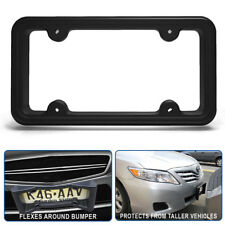 Frame Front Bumper License Plate Flexible Guard Protection Cars Cover Light Duty