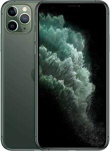 Apple iPhone 11 Pro Max MWHF2B/A 512 GB Green Unlocked Smartphone Grade
