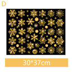 Merry Christmas Window Stickers Clings Snowflake Art Decal Xmas Home Decor