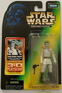 Star Wars - Expanded Universe - Grand Admiral Thrawn - with 3D Play Scene - 1998