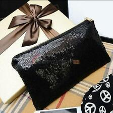 Sparkling Sequins New Fashion Clutch Evening Party Bag Handbag Womens Tote Purse