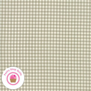 Moda SWEET TEA 5729 11 Brown Tan White Plaid Check SWEETWATER Quilt Fabric