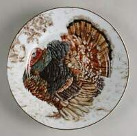 Williams Sonoma PLYMOUTH Turkey Salad Plate 10495822