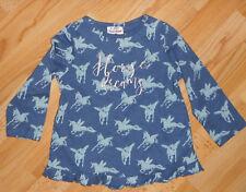 Sweatshirt Langarm- Shirt Gr 98 fliegende Pferde