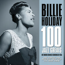 Billie Holiday - 100 Jazz Greats 4CD NEW/SEALED