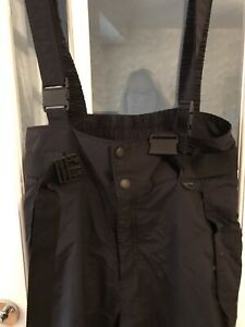 mens Black Columbia salopettes Size M