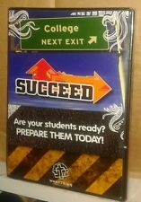 Succeed College Next Exit 4 DVDs High School Graduation Educational Senior NR
