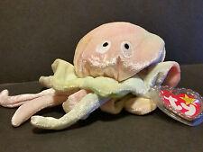 1999 Ty Beanie Baby Goochy the Jellyfish W/Tags