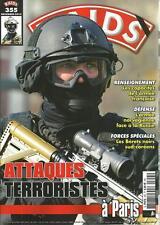 RAIDS N° 355 / ATTAQUES TERRORISTES A PARIS - BERETS-NOIRS SUD-COREENS