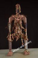 284 Große alte Figur der Namji Nigeria Afrika