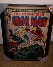 The Invincible Iron-Man No. 124 Marvel Wall Art 16'' x 20'' Canvas Print