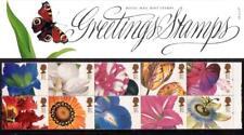 GB 1997 GREETINGS FLOWERS PRESENTATION PACK G6 SG:1955 1964 MINT STAMP SET # G6