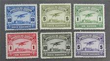 nystamps Ecuador Stamp # C26//C31 Mint OG H/NH $55