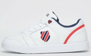 K Swiss Court Fremont Lite Mens Classic Casual Retro Fashion Trainers White