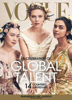 Vogue US American Magazine April 2019  - Scarlett Johansson Cover NEW
