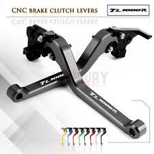 Motorbike CNC Alu Long Brake Clutch Adjustable Levers for SUZUKI TL1000R 1998-03