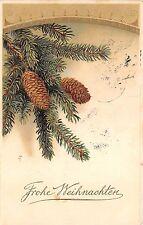 BG3793 weihnachten christmas fir branch   germany  greetings