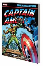 CAPTAIN AMERICA: THE COMING OF...THE FALCON EPIC COLLECTION TPB LEE/KIRBY