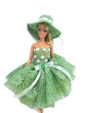 Barbie Doll Outfit Costume Dress & hat Fairytopia Ballerina Fairy Angel # FA-31
