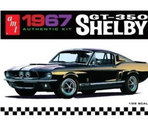 AMT 1:25 1967 Shelby Gt350 - Black, #R2AMT834