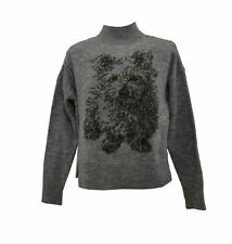 ** Anthropology / MOTH ** Grey Jumper ** XS ** Wool Blend **