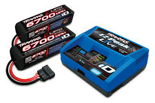 Traxxas X-Maxx 4S LiPo's & Charger Completer Pack w/ Free Traxxas Decals TRA2993